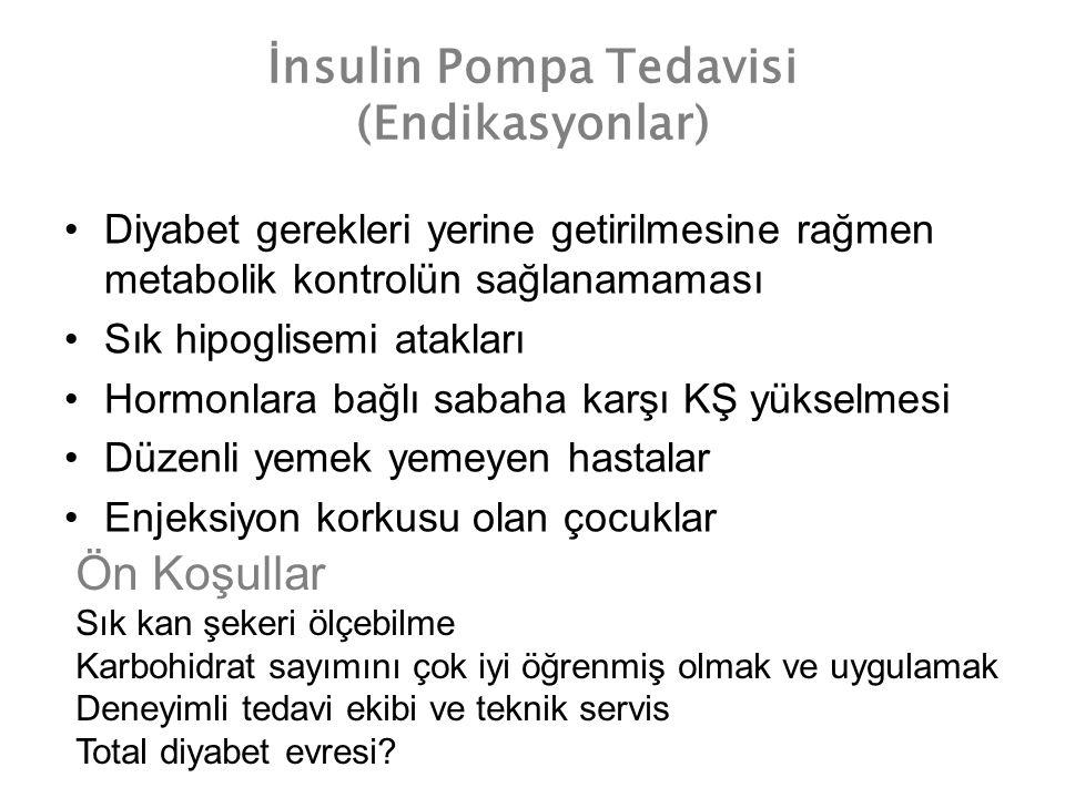 İnsulin Pompa Tedavisi (Endikasyonlar)