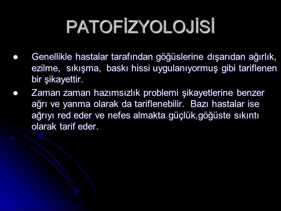 PATOFİZYOLOJİSİ