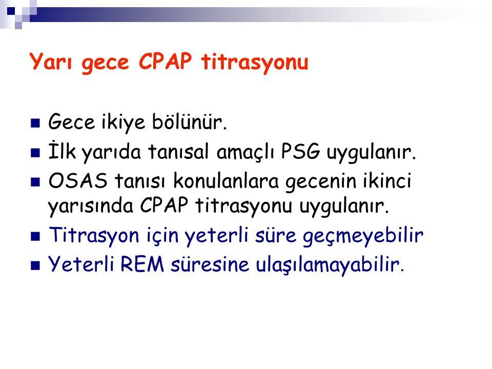 Yarı gece CPAP titrasyonu