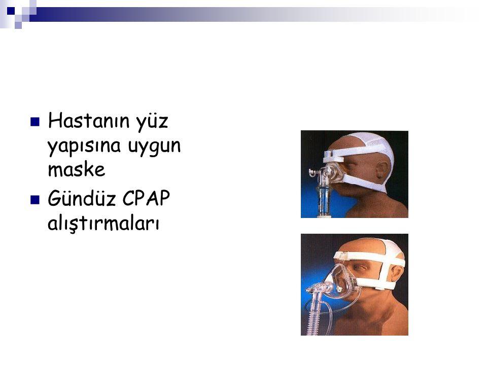 Hastanın yüz yapısına uygun maske