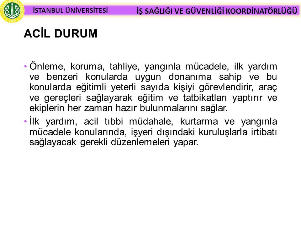 ACİL DURUM