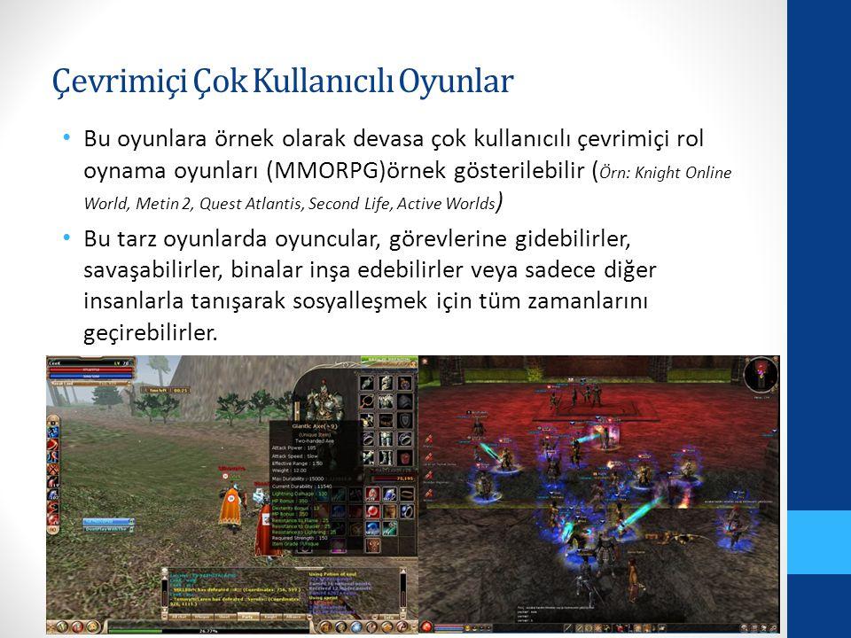 Çevrimiçi Çok Kullanıcılı Oyunlar