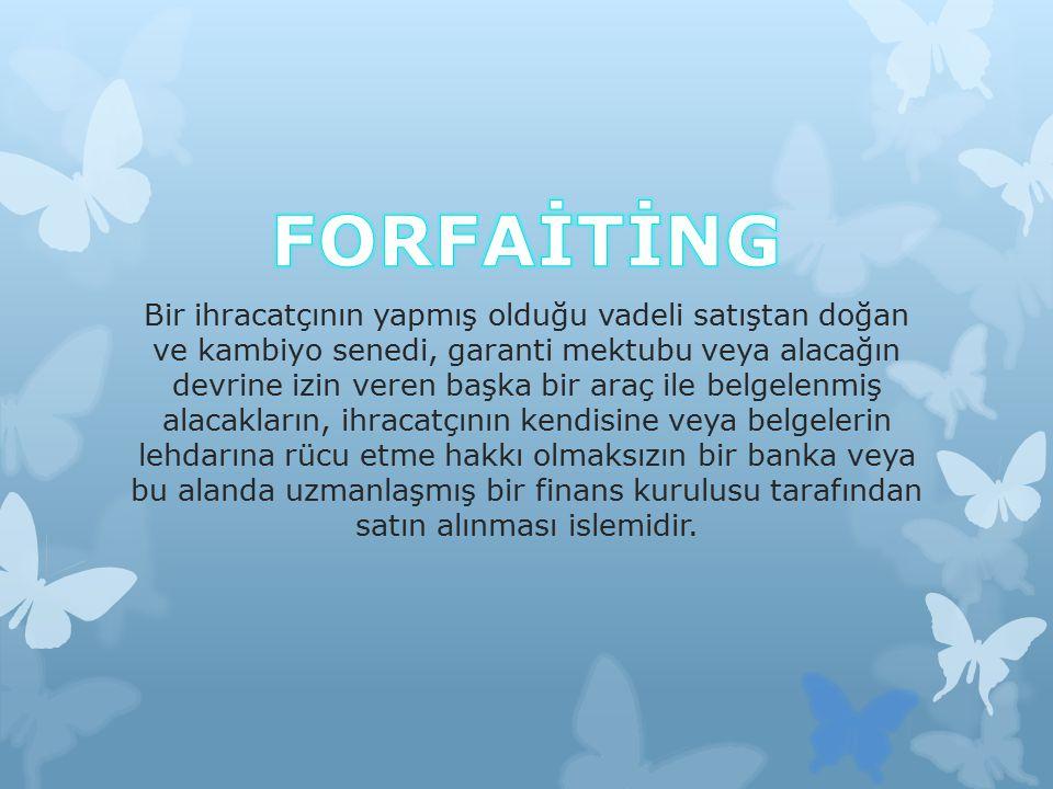 FORFAİTİNG