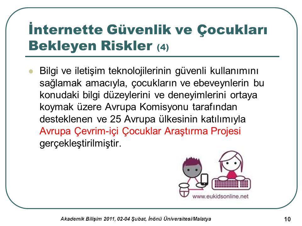 İnternette Güvenlik ve Çocukları Bekleyen Riskler (4)