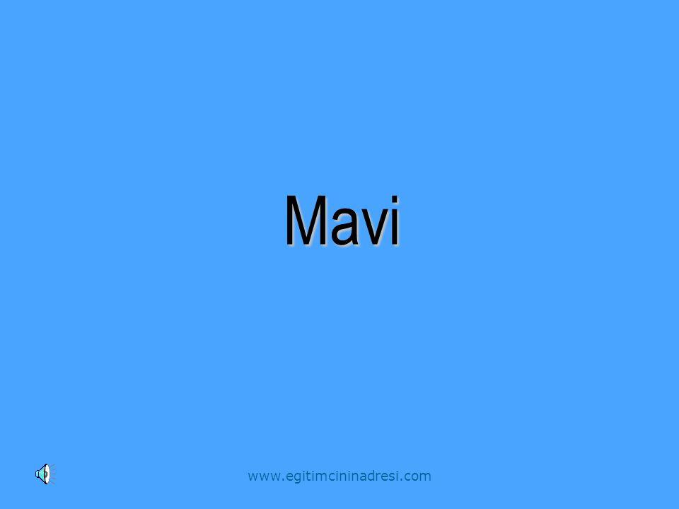 Mavi www.egitimcininadresi.com