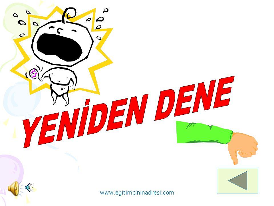 YENİDEN DENE www.egitimcininadresi.com