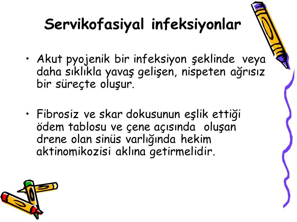 Servikofasiyal infeksiyonlar