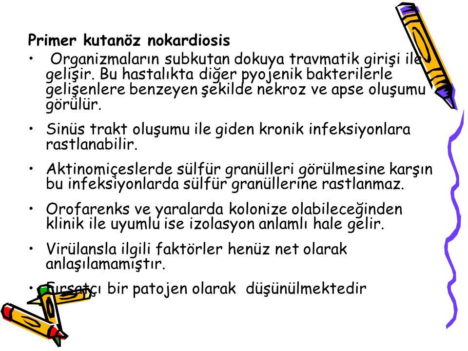 Primer kutanöz nokardiosis