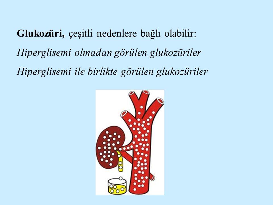 Glukozüri, çeşitli nedenlere bağlı olabilir:
