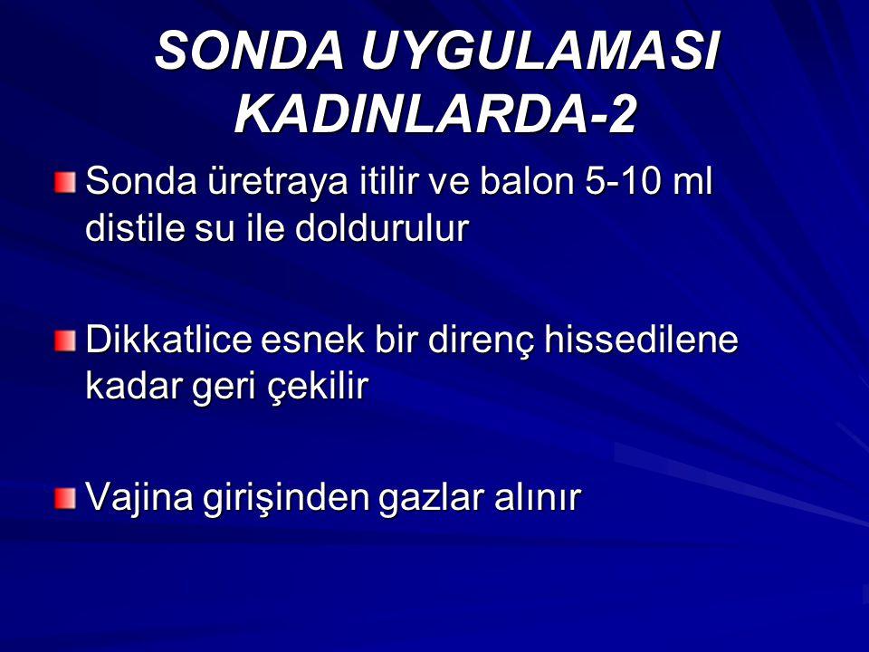 SONDA UYGULAMASI KADINLARDA-2