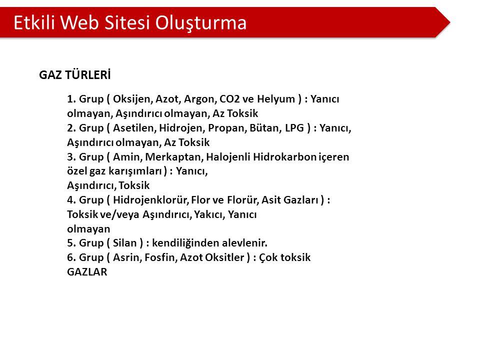 Etkili Web Sitesi Oluşturma