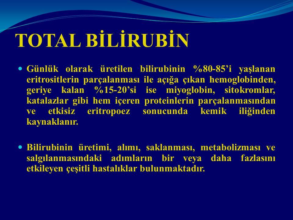 TOTAL BİLİRUBİN