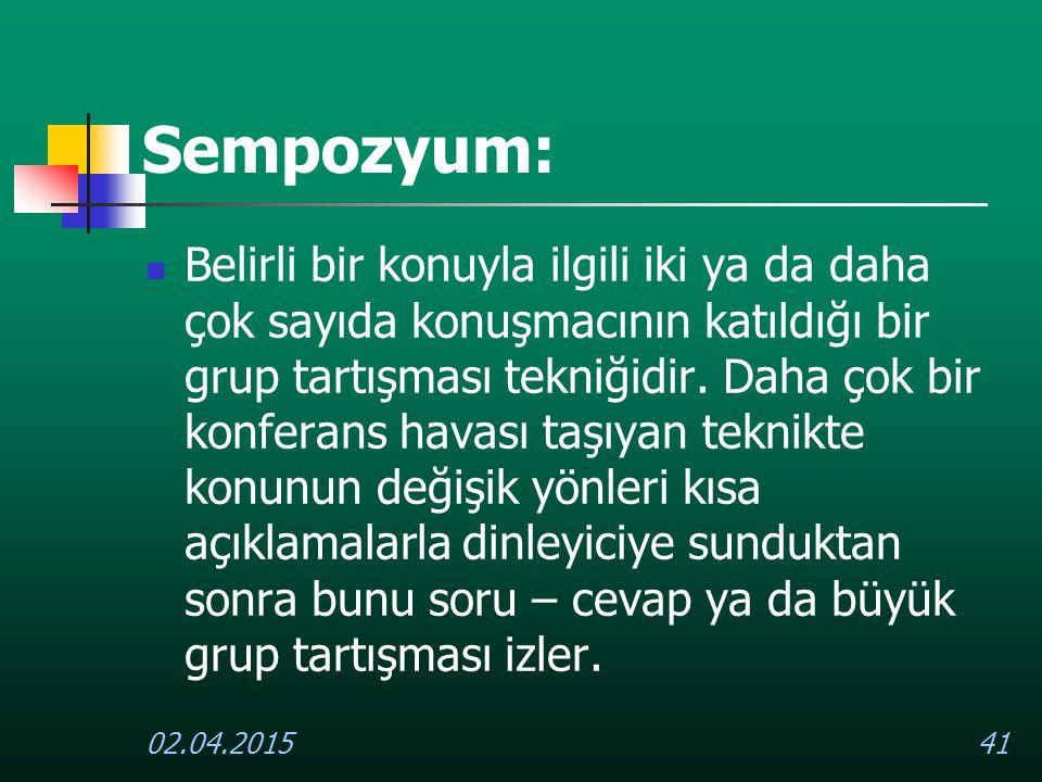 Sempozyum: