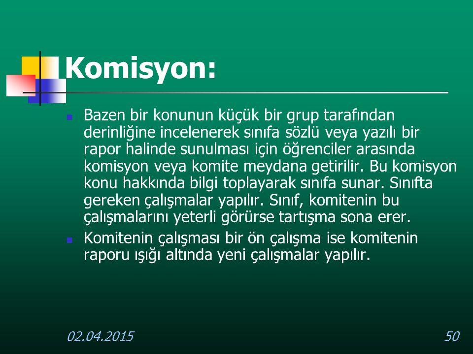 Komisyon: