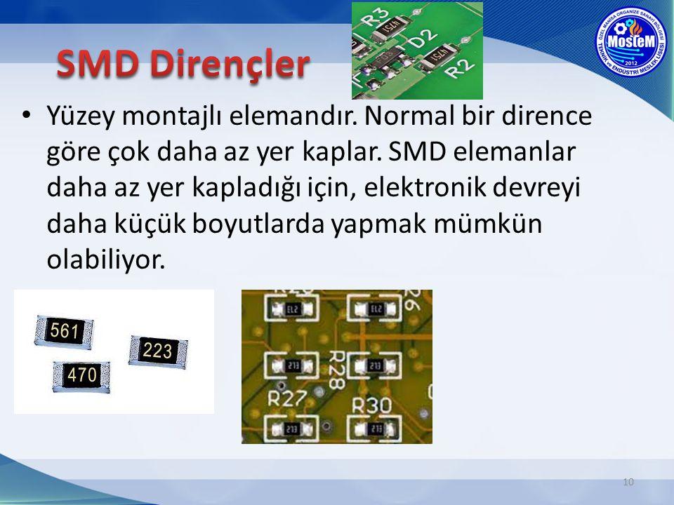 SMD Dirençler