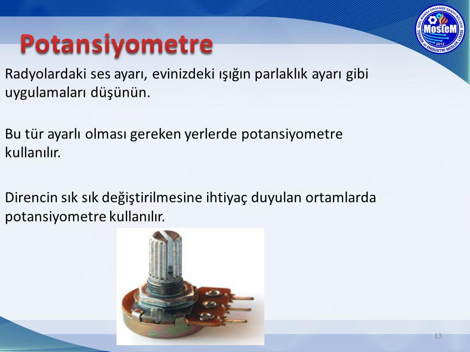 Potansiyometre