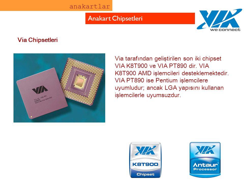anakartlar Anakart Chipsetleri Via Chipsetleri