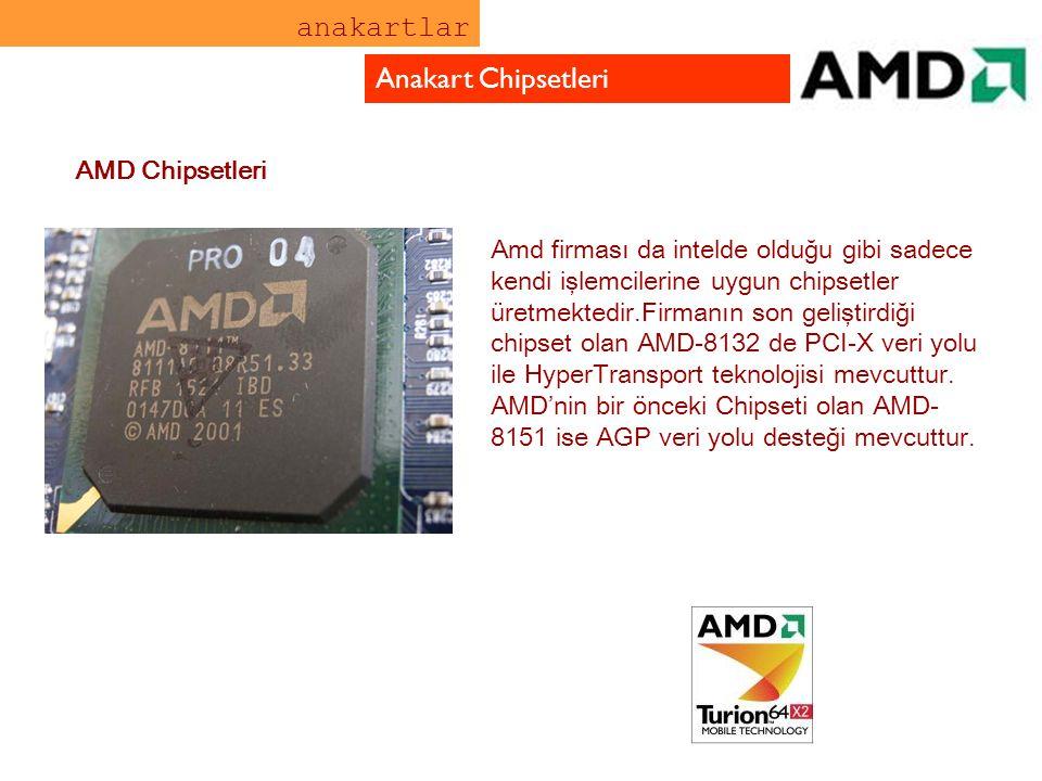 anakartlar Anakart Chipsetleri AMD Chipsetleri