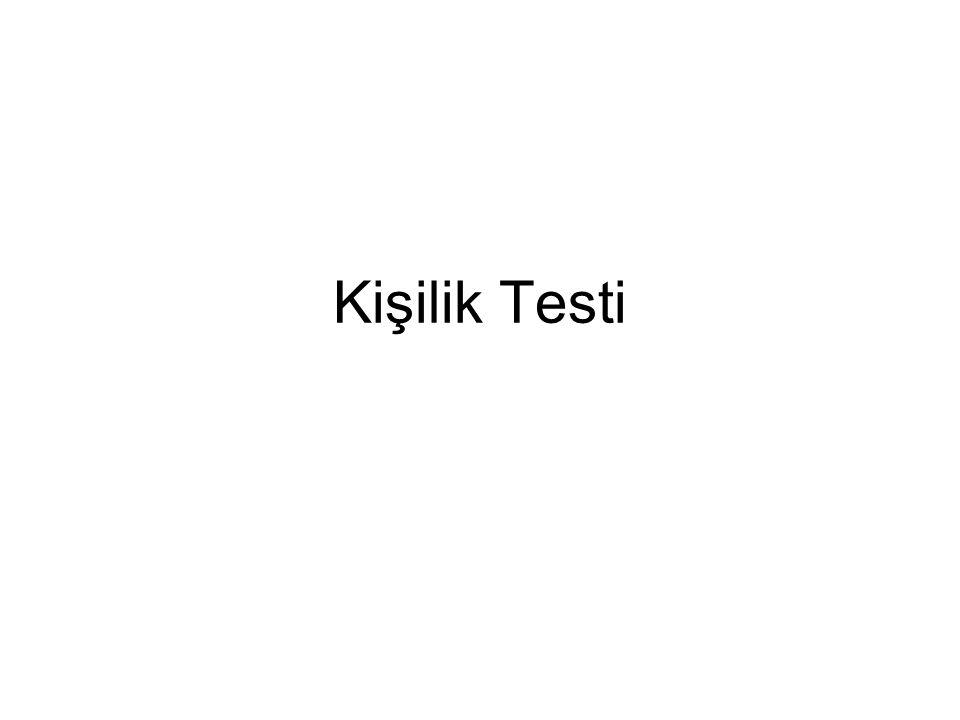 Kişilik Testi