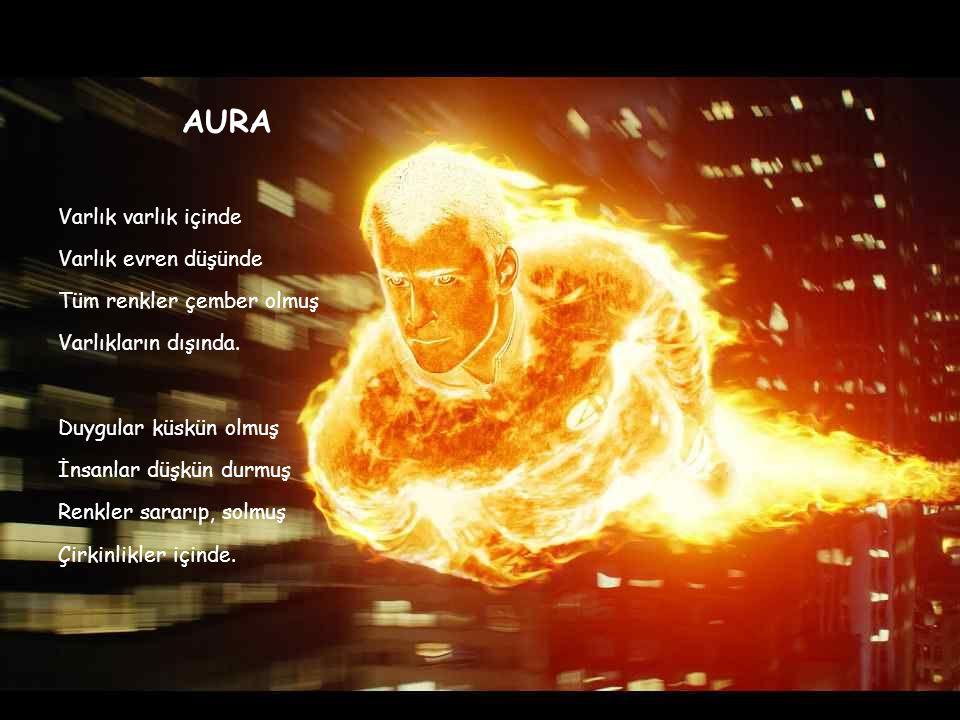 AURA Varlık varlık içinde Varlık evren düşünde