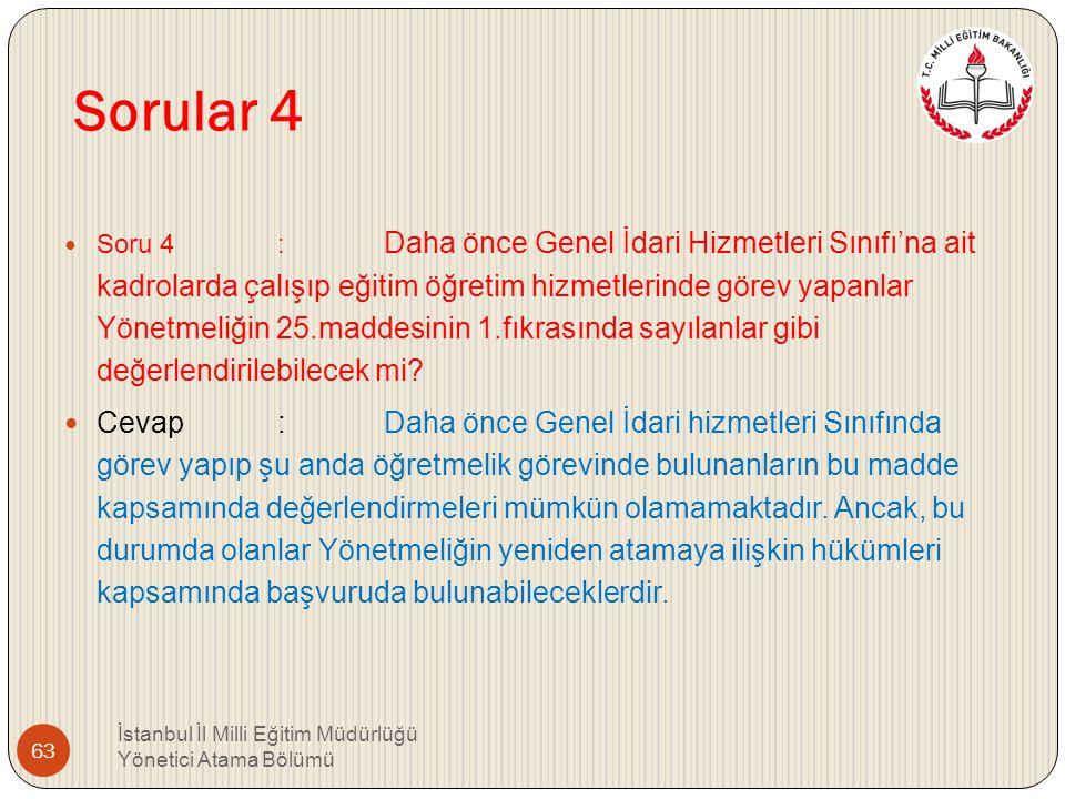 Sorular 4