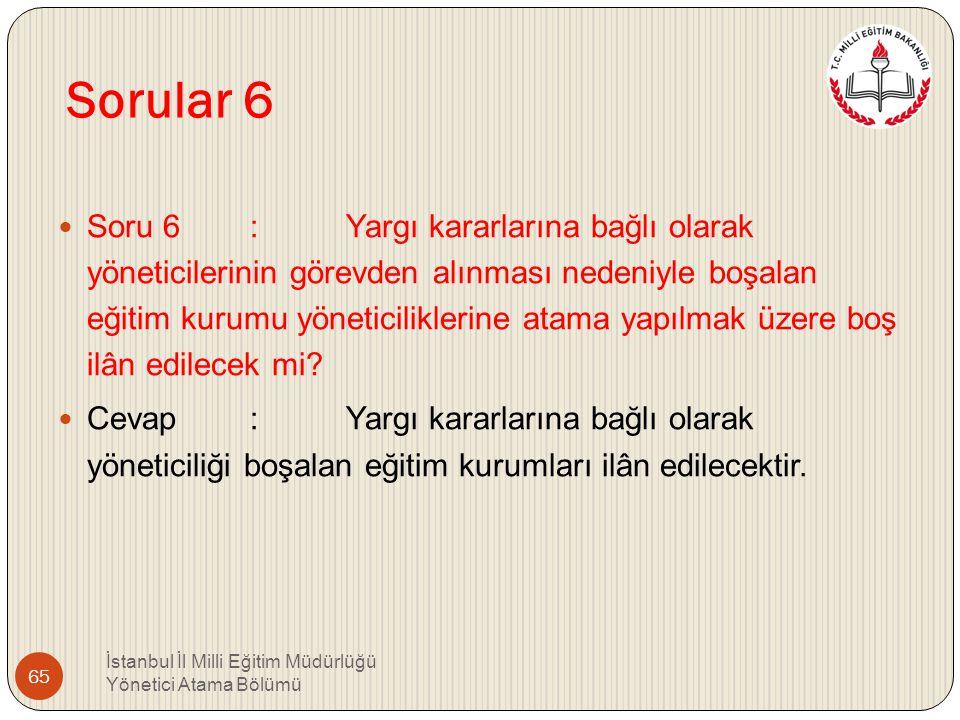 Sorular 6