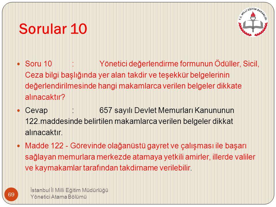 Sorular 10