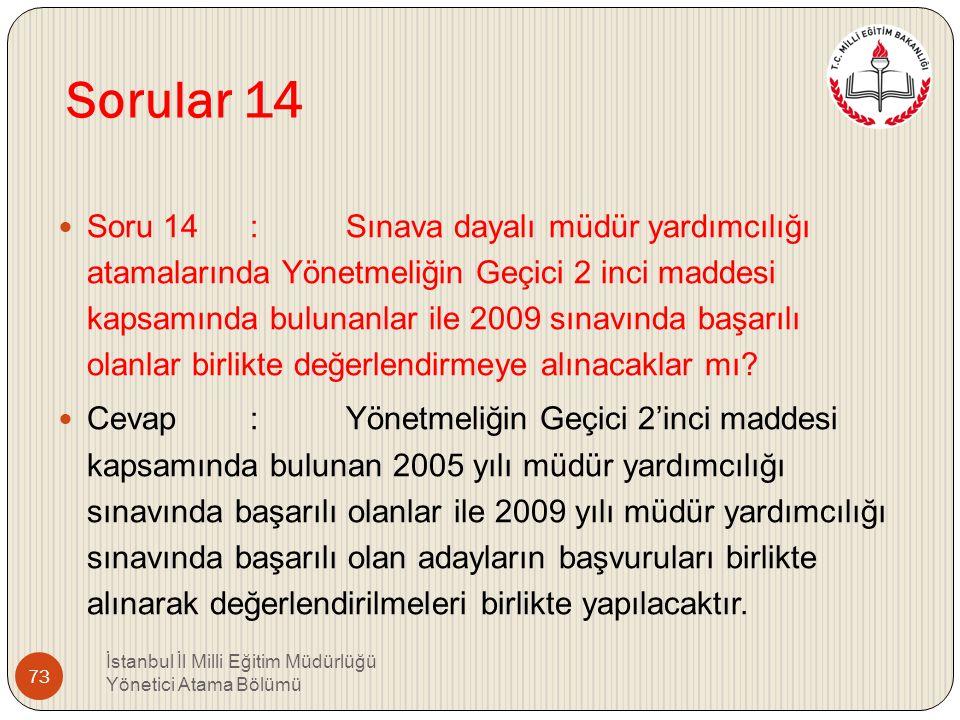 Sorular 14