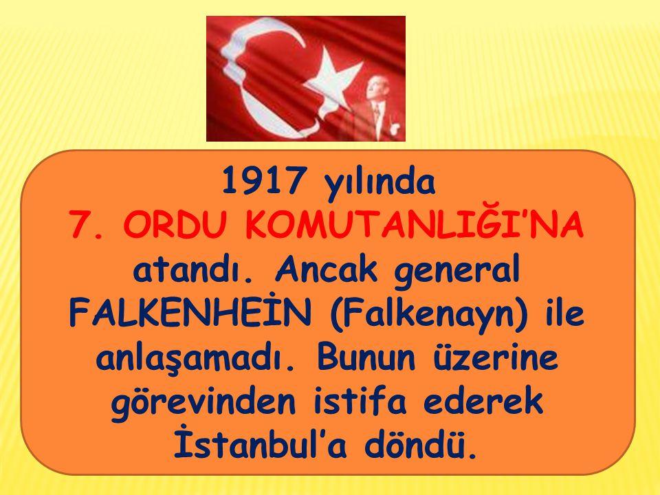1917 yılında