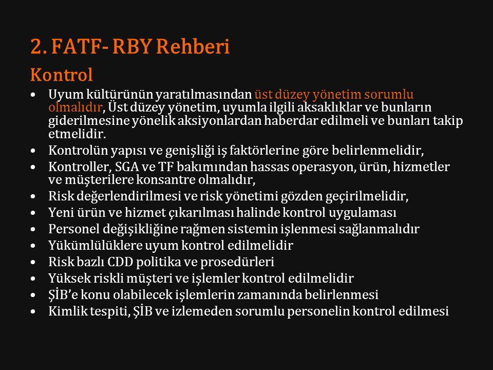 2. FATF- RBY Rehberi Kontrol