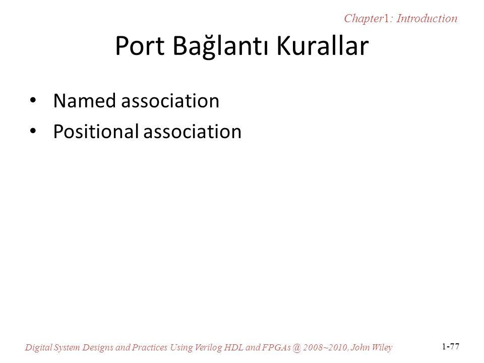 Port Bağlantı Kurallar