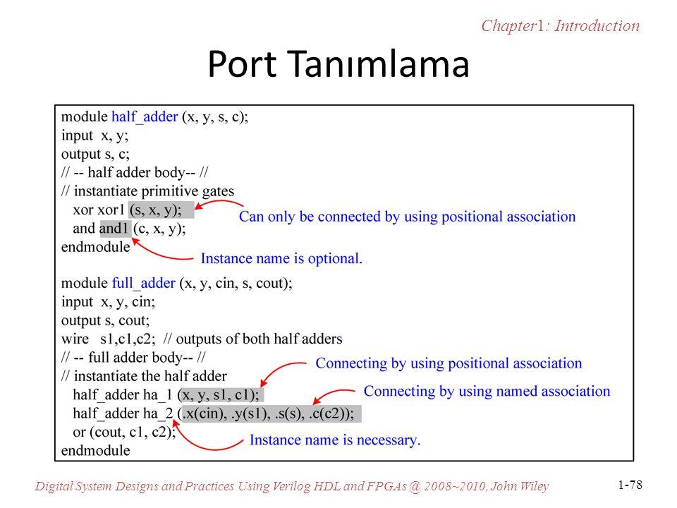 Port Tanımlama