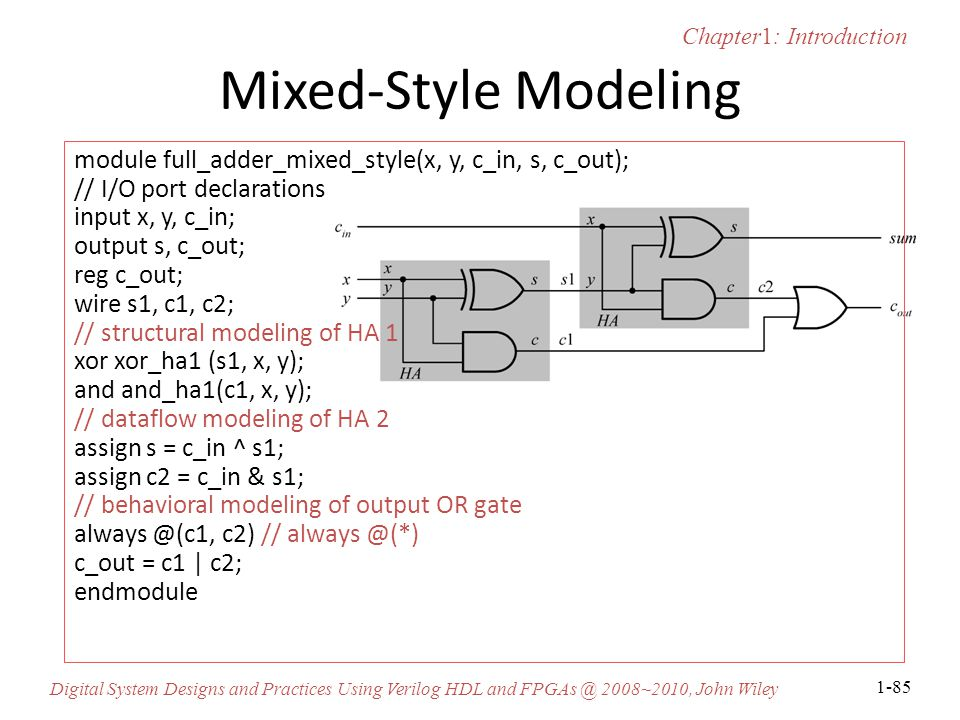 Mixed-Style Modeling