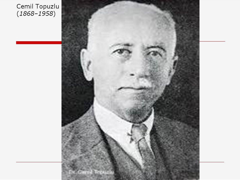 Cemil Topuzlu (1868–1958)