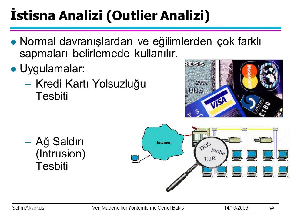 İstisna Analizi (Outlier Analizi)