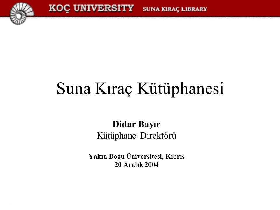 Suna Kıraç Kütüphanesi