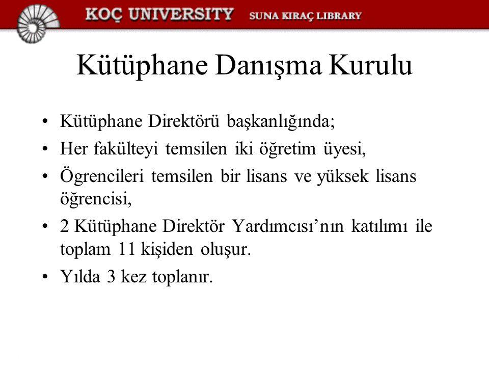 Kütüphane Danışma Kurulu