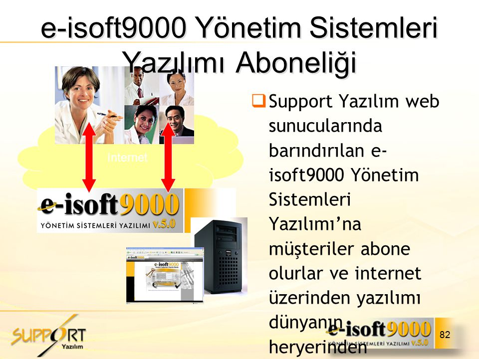e-isoft9000 Yönetim Sistemleri Yazılımı Aboneliği