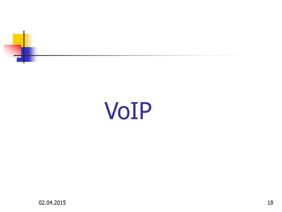 VoIP 09.04.2017