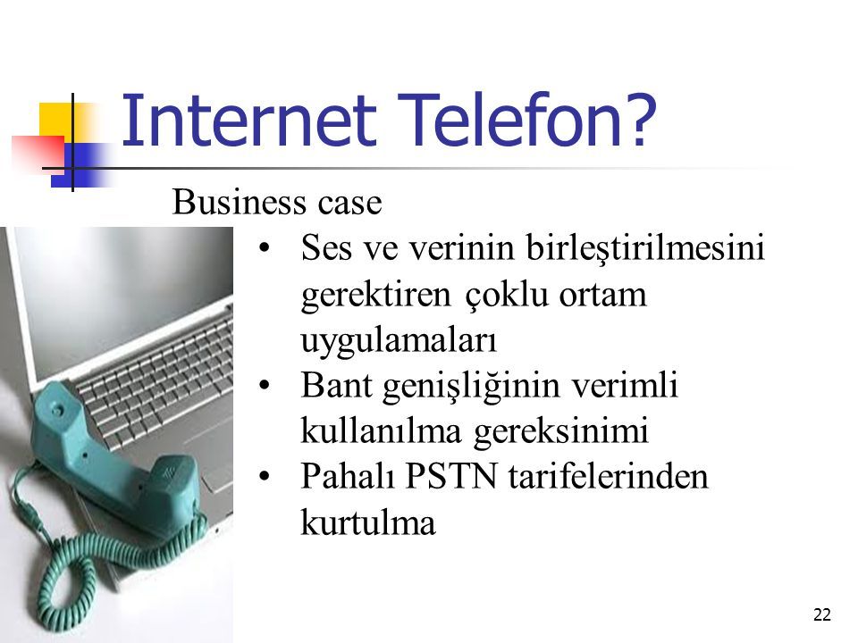 Internet Telefon Business case