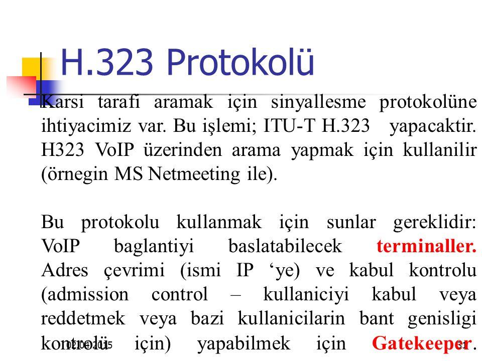H.323 Protokolü