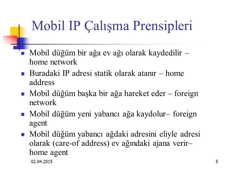Mobil IP Çalışma Prensipleri