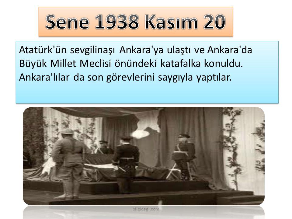 Sene 1938 Kasım 20