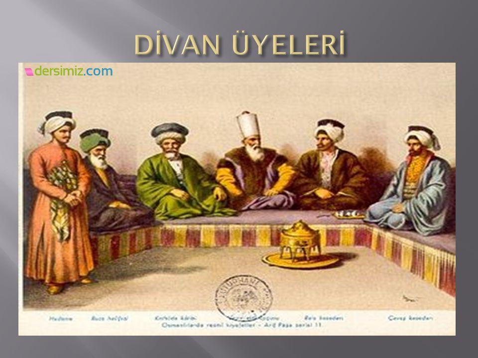 DİVAN ÜYELERİ