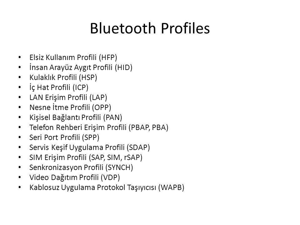 Bluetooth Profiles Elsiz Kullanım Profili (HFP)