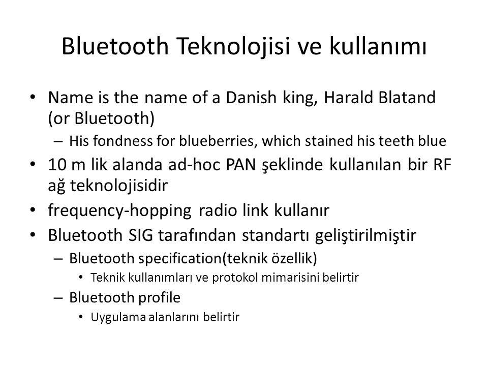 Bluetooth Teknolojisi ve kullanımı