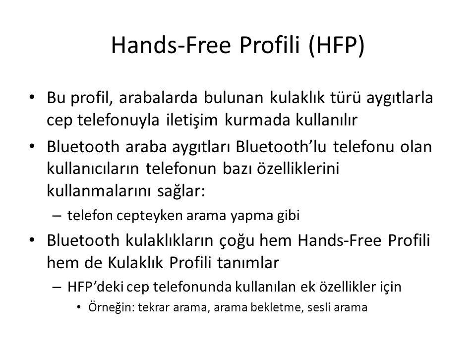 Hands-Free Profili (HFP)