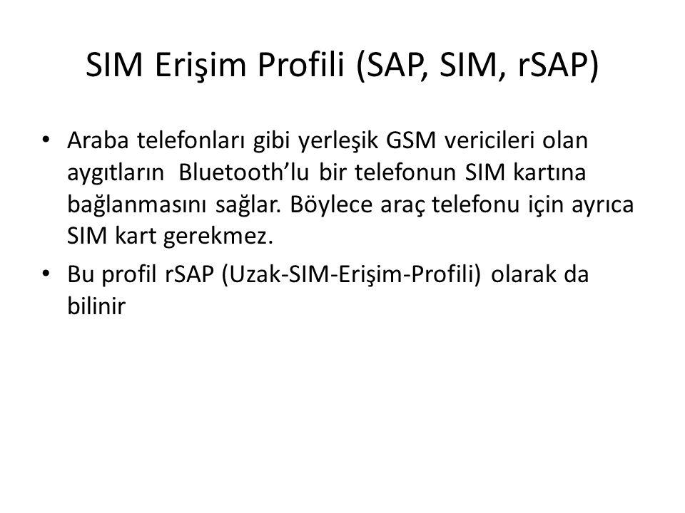 SIM Erişim Profili (SAP, SIM, rSAP)