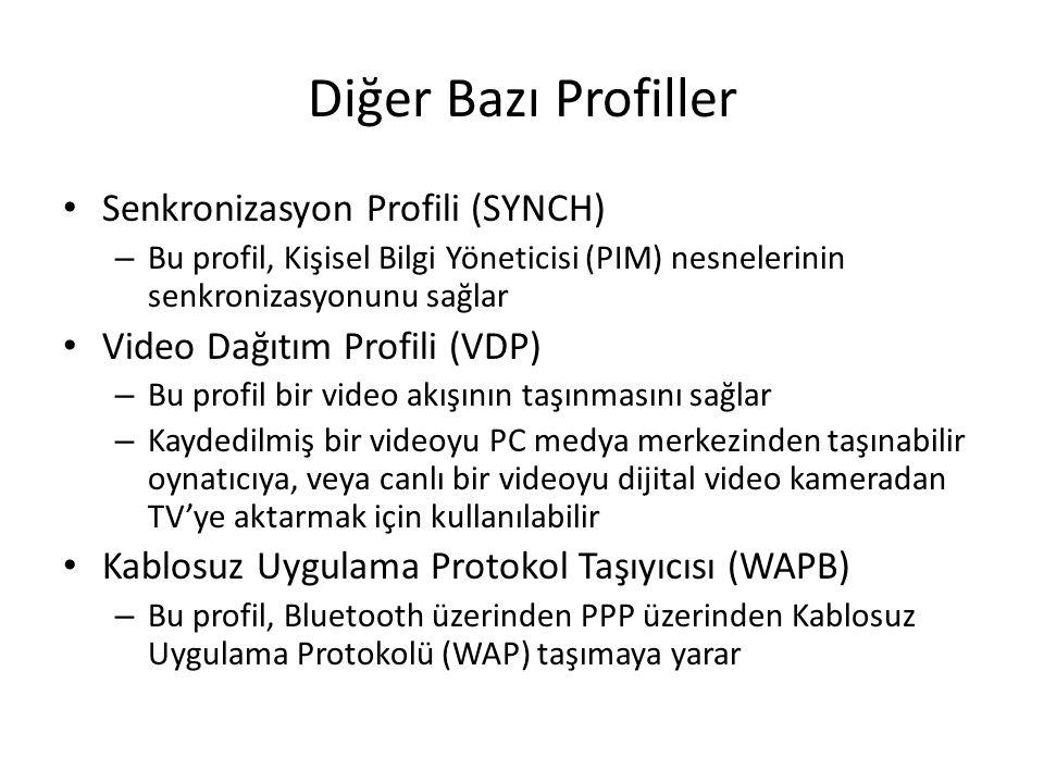 Diğer Bazı Profiller Senkronizasyon Profili (SYNCH)