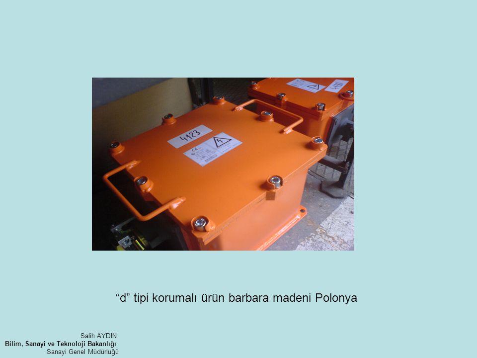 d tipi korumalı ürün barbara madeni Polonya